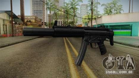 MP5 SD3 para GTA San Andreas