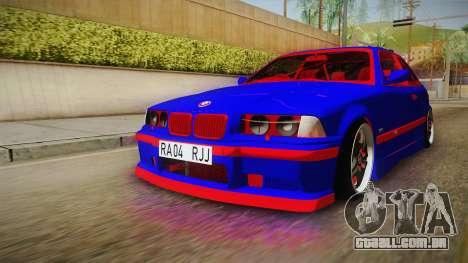 BMW 3 Series E36 Urechea Stelista Edition para GTA San Andreas