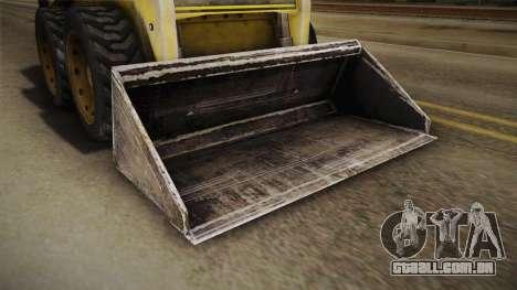 Demolition Company - Skid Steer Loader para GTA San Andreas vista interior