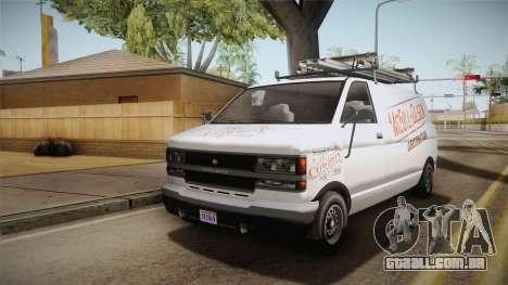 GTA 5 Declasse Burrito Commercial para GTA San Andreas