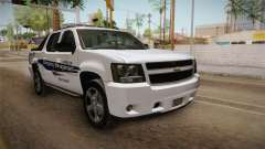 Chevrolet Avalanche 2008 Emergency Management para GTA San Andreas