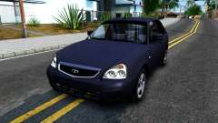 VAZ 2172 turquesa para GTA San Andreas