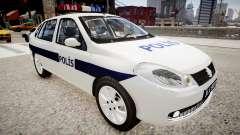 Renault Clio Symbol Police 2011