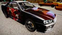 Nissan Skyline R34 Paintjob by eXTaron