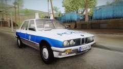 BMW 323i E30 Turkish Police para GTA San Andreas