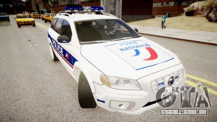 Volvo Police National para GTA 4