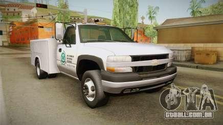 Chevrolet Silverado 2500HD Utility 2001 IVF para GTA San Andreas