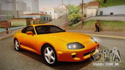 Toyota Supra US-Spec (JZA80) 1993 PJ para GTA San Andreas