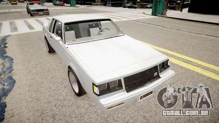 Buick Regal Grand National para GTA 4