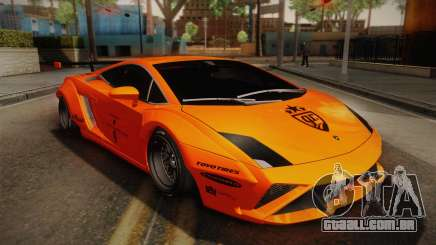 Lamborghini Gallardo Liberty Walk para GTA San Andreas