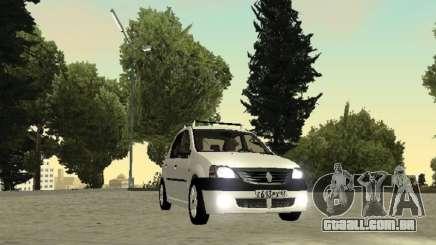 Renault Logan 2007 para GTA San Andreas