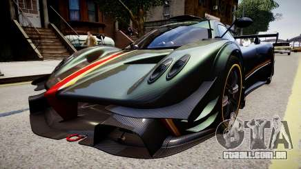 Pagani Zonda R Evolucion Final para GTA 4