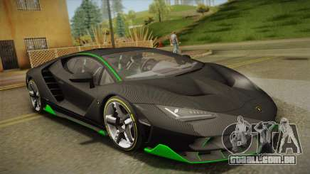 Lamborghini Centenario LP770-4 2017 Carbon Body para GTA San Andreas