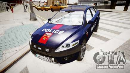 Ford Mondeo Police Nationale para GTA 4