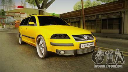 Volkswagen Passat B5 FL W8 para GTA San Andreas