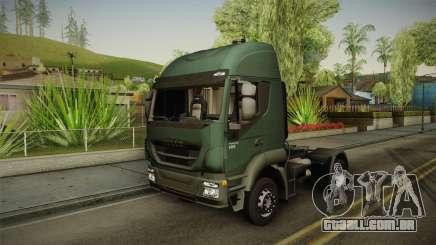 Iveco Trakker Hi-Land 4x2 Cab High v3.0 para GTA San Andreas