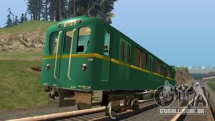 O tipo de carro de D gravação da trilha para GTA San Andreas