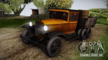 GAZ-AAA 1934 FIV para GTA San Andreas