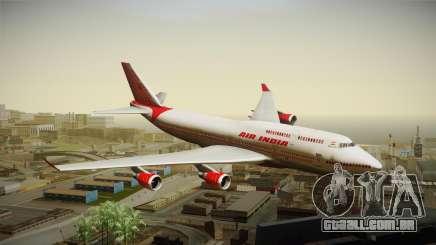 Boeing 747-400 Air India Khajuraho para GTA San Andreas