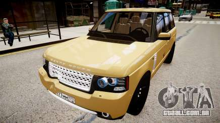 Land Rover Supercharged 2012 para GTA 4