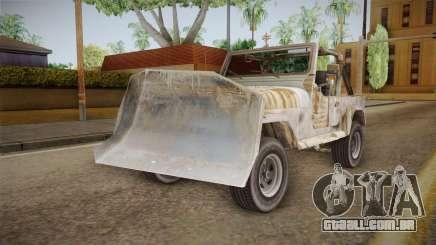 Jeep Wrangler Mad Max Style para GTA San Andreas