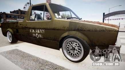 Volkswagen Caddy US Army para GTA 4
