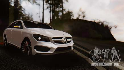Mercedes-Benz CLA45 AMG Shooting Brakes Boss para GTA San Andreas