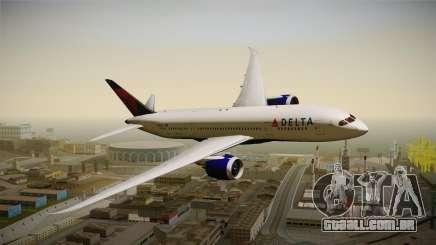 Boeing 787-8 Delta Airlines para GTA San Andreas