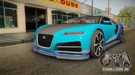 GTA 5 Truffade Nero Spyder IVF para GTA San Andreas