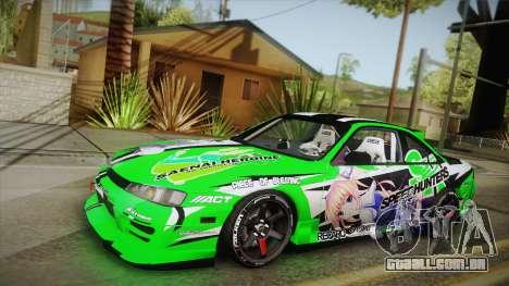 Nissan Silvia S14 Drift Speedhunters Saekano para GTA San Andreas