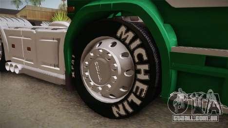 Scania R620 ONEXOX para GTA San Andreas vista traseira