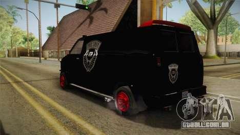 GTA 5 Declasse Burrito Lost MC IVF para GTA San Andreas