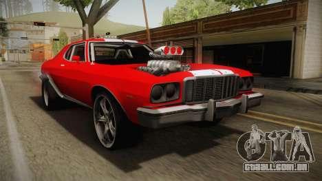 Ford Gran Torino 1975 Drag para GTA San Andreas
