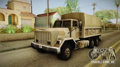 Barracks GTA 5 para GTA San Andreas