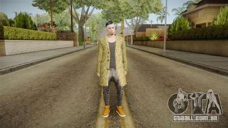 GTA Online DLC Import-Export Male Skin 2 para GTA San Andreas