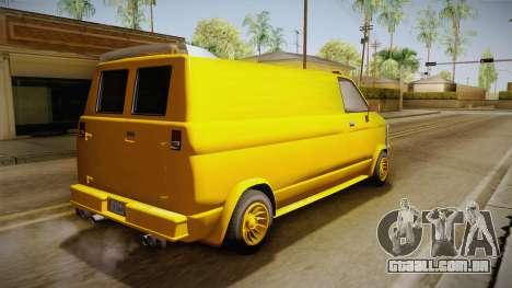 GTA 5 Declasse Burrito A-Team IVF para GTA San Andreas