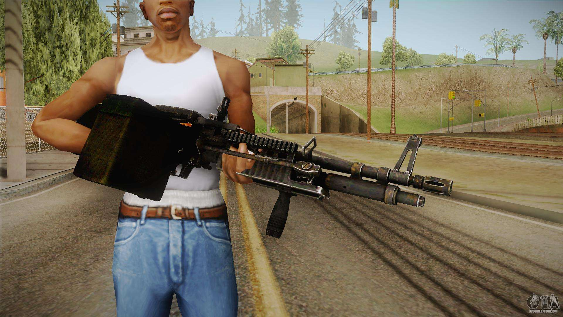 m60 machine gun para gta san andreas. Black Bedroom Furniture Sets. Home Design Ideas