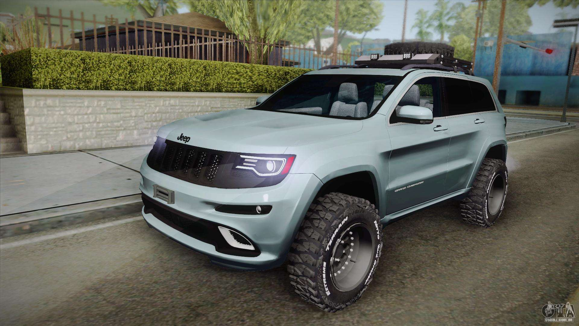 2017 Jeep Cherokee Lifted >> Jeep Grand Cherokee SRT Lifted para GTA San Andreas