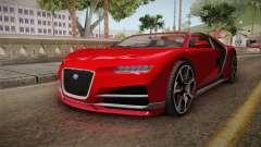 GTA 5 Truffade Nero Cabrio para GTA San Andreas