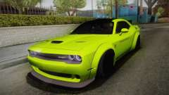 Dodge Challenger Hellcat Liberty Walk LB Perform