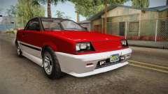 GTA 5 Dinka Blista Cabrio IVF para GTA San Andreas