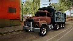 Mack RD690 Dumper Tri Axle 1992 v1.0 para GTA San Andreas