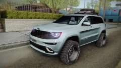 Jeep Grand Cherokee SRT Lifted