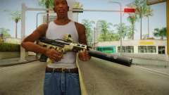 DesertTech Weapon 2 Camo Silenced para GTA San Andreas