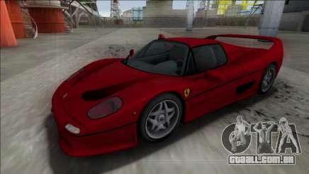 Ferrari F50 FBI para GTA San Andreas