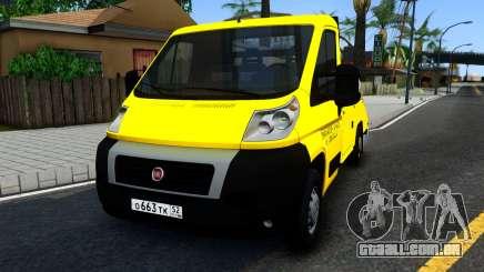 Fiat Ducato Evacuator para GTA San Andreas