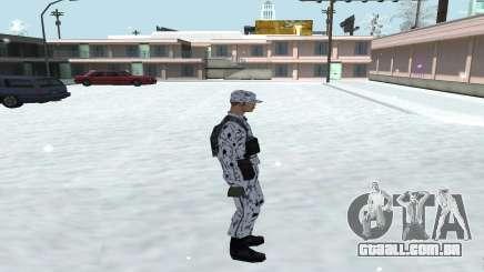 A Pele No Inverno (Exército) 1.1 para GTA San Andreas