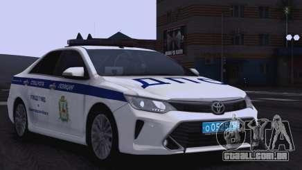 Toyota Camry para a polícia de trânsito para GTA San Andreas