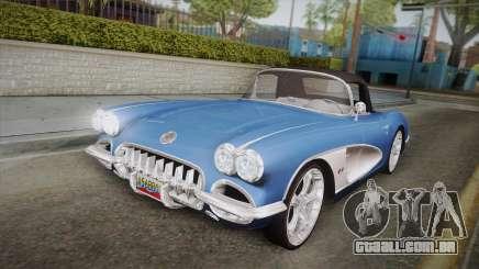 Chevrolet Corvette C1 1959 para GTA San Andreas
