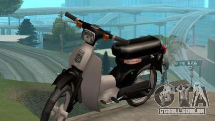Honda Cub Super Modificado V. 2 para GTA San Andreas